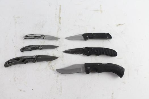 Gerber Knives, 6 Pieces