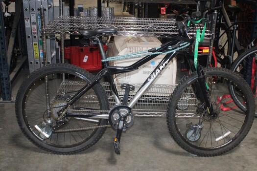 Giant Grey & Black Mountain Bike