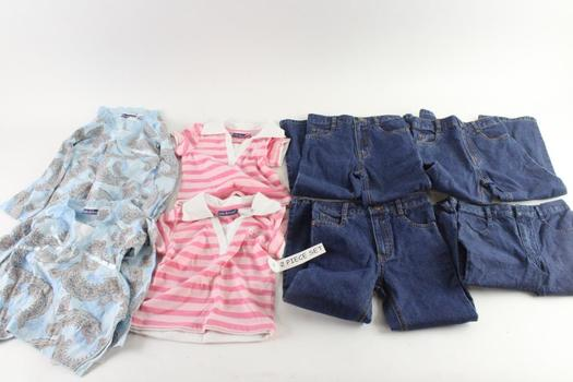 Girl Tribe Girls 2-Piece Clothing Sets, 4 Pieces