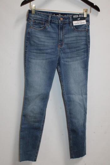 Girls High-Rise Crop Super Skinny Jeans