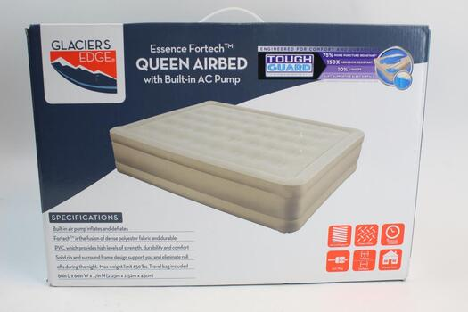 Glacier's Edge Essence Fortech Airbed With Built-In Pump