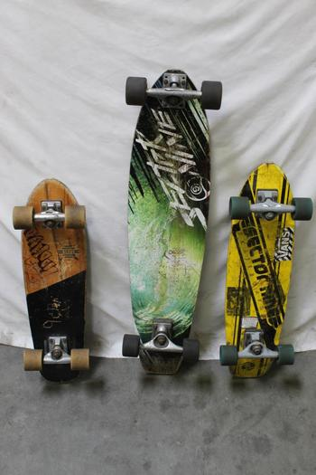 Globe And Sector Nine Skateboards, 3 Pieces