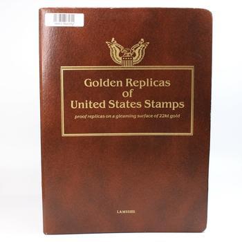 Golden Replicas Of US Stamps