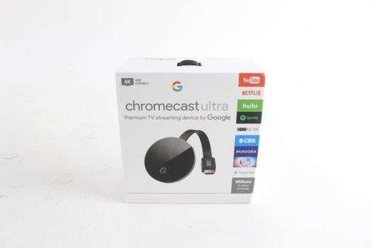 Google Chromecast Ultra Streaming Device