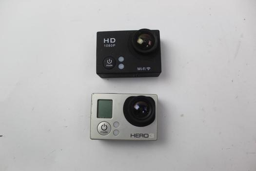 Gopro & Other Action Camera; 2 Pieces