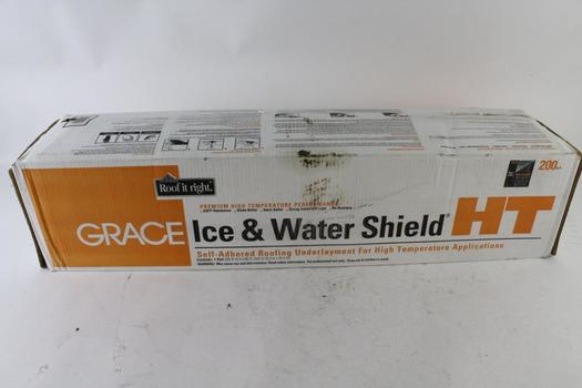 Grace High Temperature Ice And Water Shield Self Adhered Roofing Underlayment