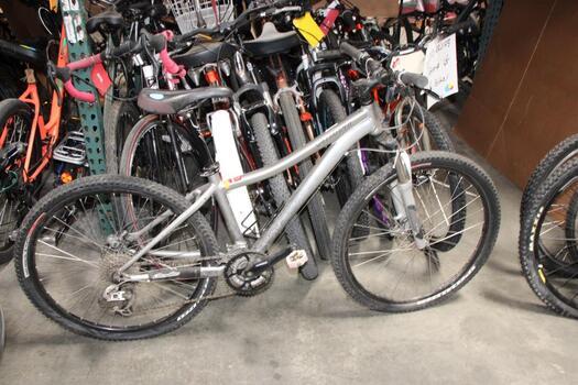 Grey Specialized Mountain Bike
