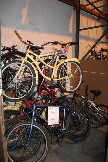 Group Of 10+ Used Bikes