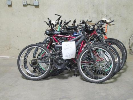 Group Of 12 Used Bikes
