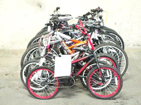 Group Of 13 Used Bikes