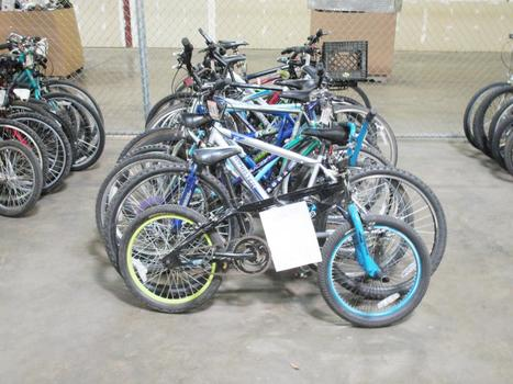 Group Of 14 Used Bikes