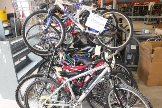 Group Of 15 Used Bikes