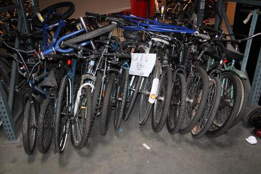 Group Of 16 Used Bikes