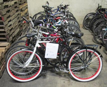Group Of 17 Used Bikes