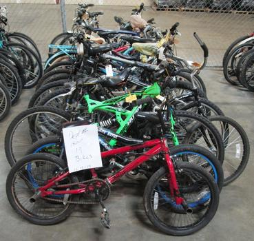 Group Of 19 Used Bikes