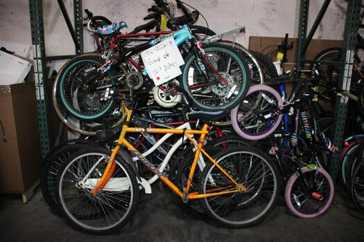 Group Of 20 +Used Bikes