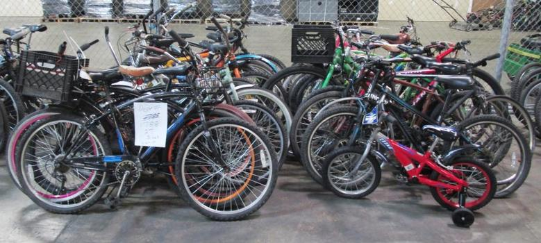 Group Of 27 Used Bikes