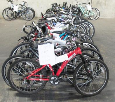 Group Of 33 Used Bikes