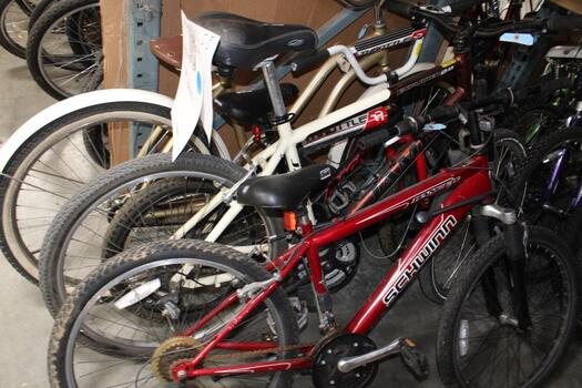 Group Of #4 Used Bikes