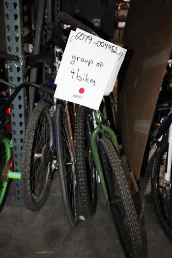 Group Of 4 Used Bikes