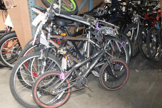 Group Of 6 Used Bikes