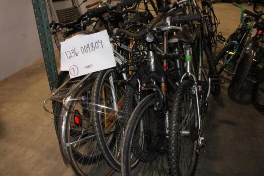 Group Of 7 Used Bikes