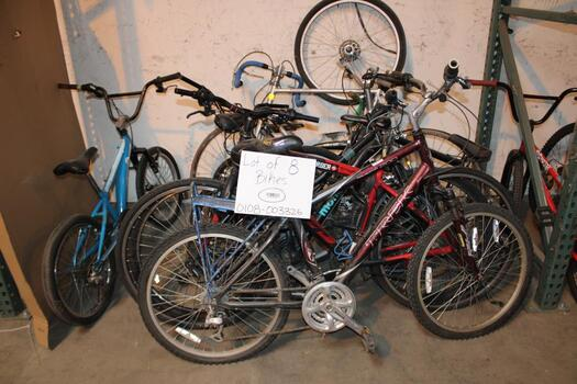 Group Of 8 Used Bikes