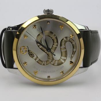 Gucci G-Timeless Snake Watch