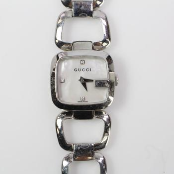 Gucci Mother Of Pearl Dial Watch