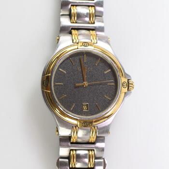 Gucci Two-Toned Stainless Steel Watch