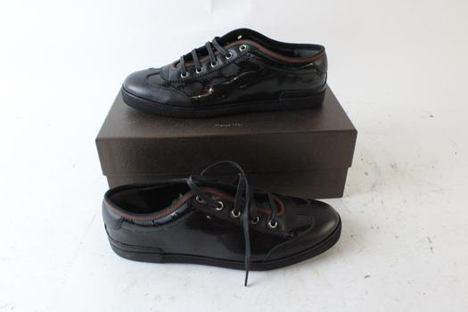 Gucci Womens GG Imprimee Shoes, Size 38.5