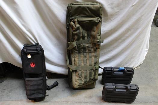 Gun Cases, Rifle Bag, Telescoping Fishing Rod And Reel: Dosko Sport, Plano: 5+ Items