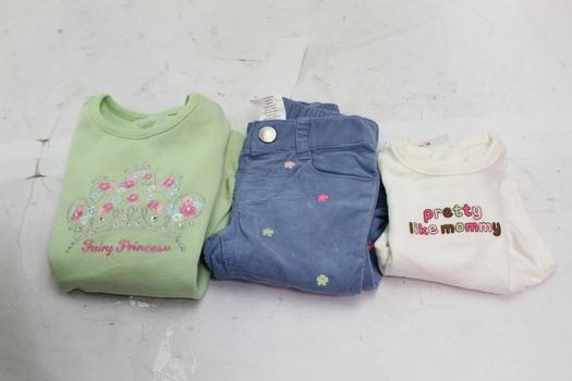 Gymboree Baby / Kids Clothing, 3 Pieces