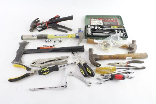 Hammers, Screwdrivers And More, 20+ Pieces