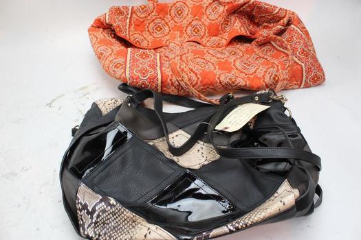 Handbags: Vera Bradley, Big Buddha: 2 Items