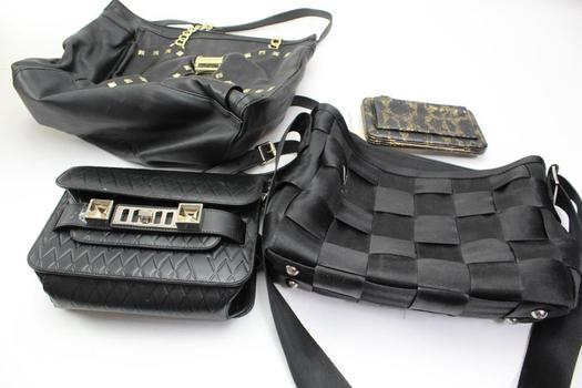 Handbags, Wallet: Betsey Johnson, Harveys, Schouler And More: 4 Items