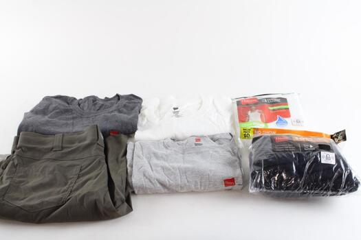 Hanes T-shirts And Socks, Tanks 10+ Pieces