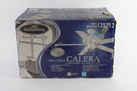 """Harbor Breeze White 52""""  Ceiling Fan"""