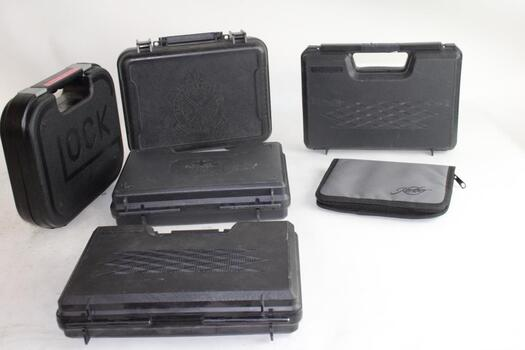 Hard Plastic And Soft Gun Cases, 8+ Pieces