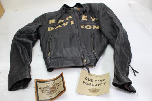 Harley-Davidson Women's Leather Jacket, Size Large