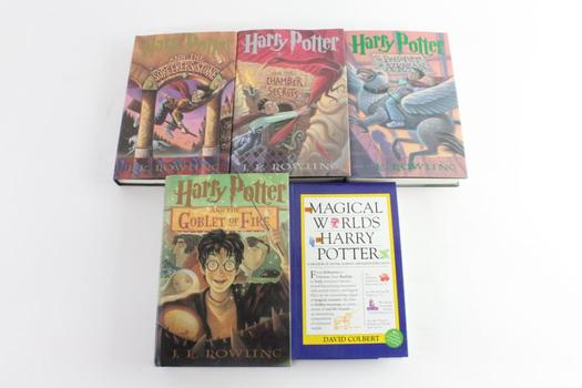 Harry Potter Books, And More, 5 Pieces