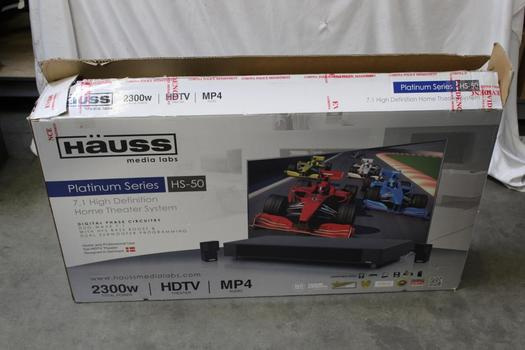 Hauss 7.1 High Definition Home Theater System