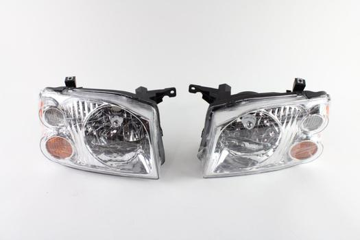 Headlight Assemblies For 2002 Nissan Frontier, L And R, 2 Pieces
