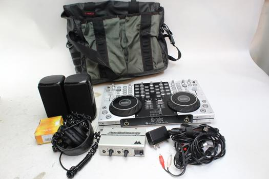 Hercules DJ Console 4-mx With Accessories