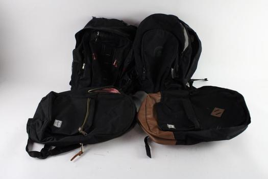 Herschel And Other Backpacks, 4 Pieces