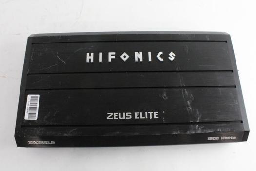 Hifonics Zeus Elite Car Amplifier