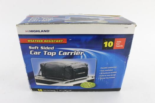 Highland Soft Sided Car Top Carrier