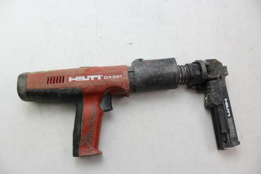 Hilti Dx351 Powder Actuated Tool