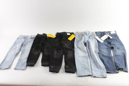 H&M Baby/Kids Jeans, 5 Pieces