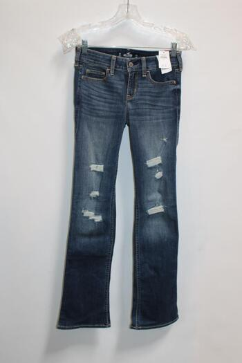 Hollister Low-Rise Boot Blue Jeans Size 3